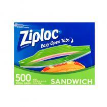 Ziploc Sandwich Bags密保诺保鲜密封袋小号